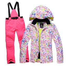 10K high quality cheapest ladies snowboard suits waterproof