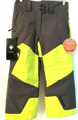 $130 Descente Peyton Ski Pants NWT Youth Size 8 Kid Snow Boy