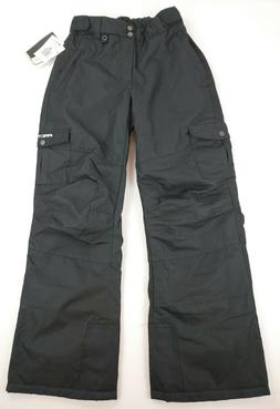 Arctix Youth Cargo Ski Pants, X-Large XL, Black 1540 NWT NEW