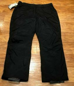 $300 NEW Columbia Black Waterproof Snow Ski Snowboard Pants