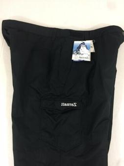 4XL Mens Ski Pants Black Zermatt NWT Water Wind Resistant In