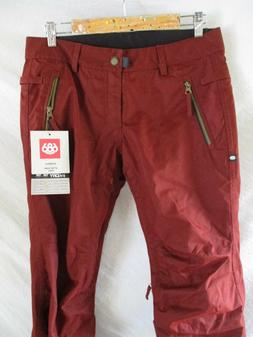 686 After Dark Infidry 10K waterproof red snowboard ski snow