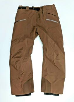Arc'teryx Sabre 2XL Tall Brown Goretex Pants NWOT