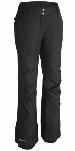 Columbia Womens Arctic Air Omni-Tech Ski Snowboard Pants-Bla