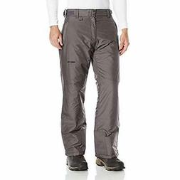 Arctix Pants Men's Essential Snow Pants, Charcoal, Medium/Re
