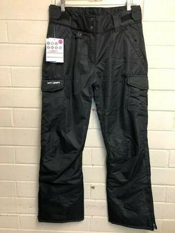 Arctix Women's Black Insulated Snowsport Cargo Ski Snowboard