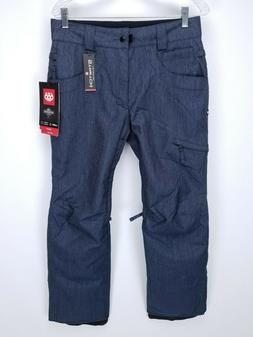 686 Authentic Raw Insulated Snowboard Ski Pant Men's SMALL B