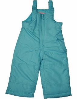 London Fog - Baby Girls Bib Snowpant, Turquoise 33952-12Mont