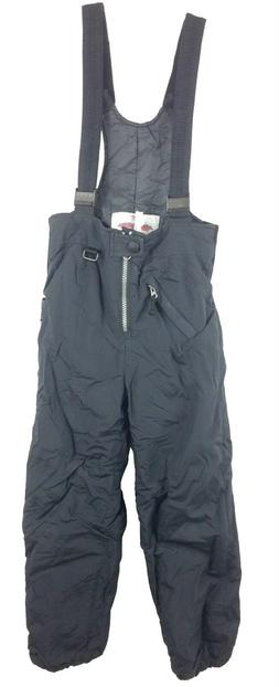 Obermeyer Black Ski Snow Pants w/ Suspenders Kids Size 7 Pre