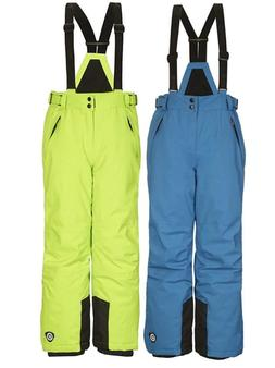 Boys KILLTEC Gauror Junior Pants w/ Zip Off Bib Suspenders S