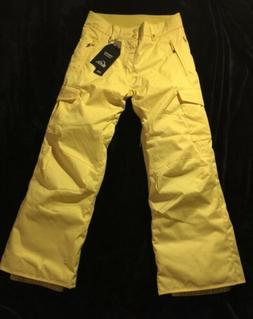 Quiksilver Snowboard Ski Pants Size Youth Medium 12 Color Ye