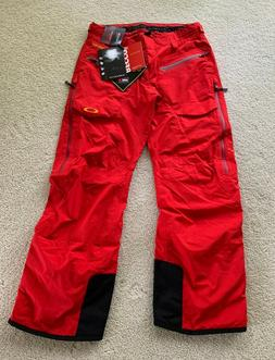 BRAND NEW MENS OAKLEY ALLIED GORTEX GORE TEX RECCO SKI PANTS