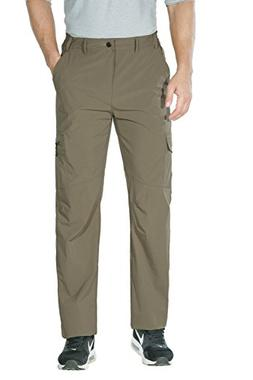 Unitop Men's Breathable Outdoor Mountain Hiking Cargo Pants