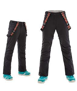 APTRO Women's Ski Pants with Suspender Windproof Waterproof