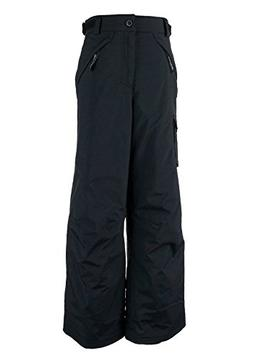 Obermeyer Carve Cargo Teen Boys Ski Pants - X-Large/Black