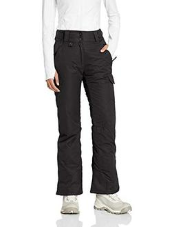 Arctix 1830-00-M Women's Snowsport Cargo Pants, Medium, Blac