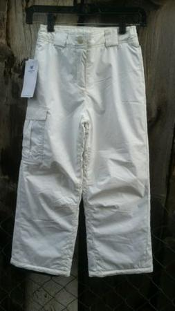 White Sierra Girl's Cruiser Snow Pant