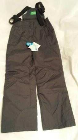 dark grey ski pants snowproof and integrated