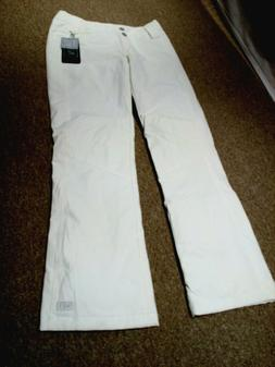 NILS Dominique Insulated Ski Pant  - Glacier White MSRP $235