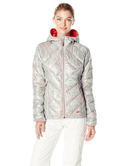 Outdoor Research Women's Filament Hooded Down Jacket, Alloy/