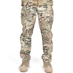 FREE SOLDIER Fleece Lined Pants Men Softshell Trousers Campi