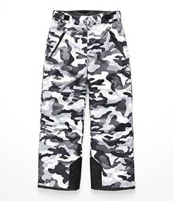 The North Face Boy's Freedom Insulated Pant - TNF Black Camo