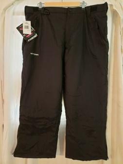 Artix from Cabellas Insulated Snow Pants Black NWT 2X