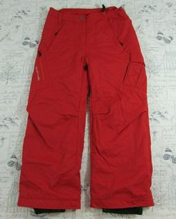 Obermeyer Girls RED Insulated Ski Snowboarding Pants Snow Ny
