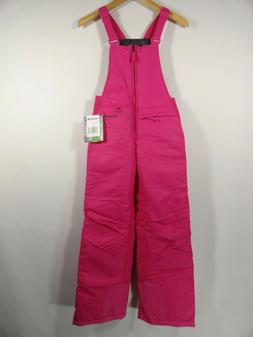 Arctix Girls Sz S Fuchsia Snow Ski Pants Insulated Bib Overa