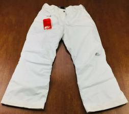 The North Face Girls XL 18 White Freedom Insulated EZ Grow S