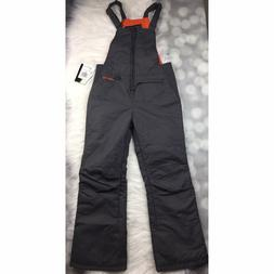 Arctix Insulated Bib Overalls Youth Boys Large 14 16 Charcoa