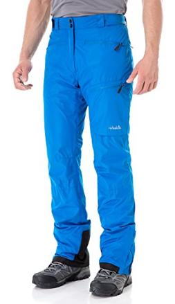 Clothin Men's Insulated Ski Pant Fleece-Lined Waterproof Sno