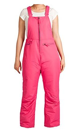 Arctix Youth Insulated Overalls Bib, X-Small, Fuchsia