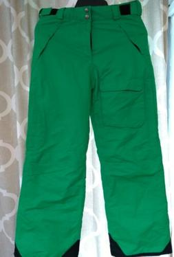 Pulse  Junior Youth Ski & Snowboard Pants - green   XL size