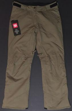 686 KAZ Pants Insulated Snowboard Ski Waterproof Tobacco KCR