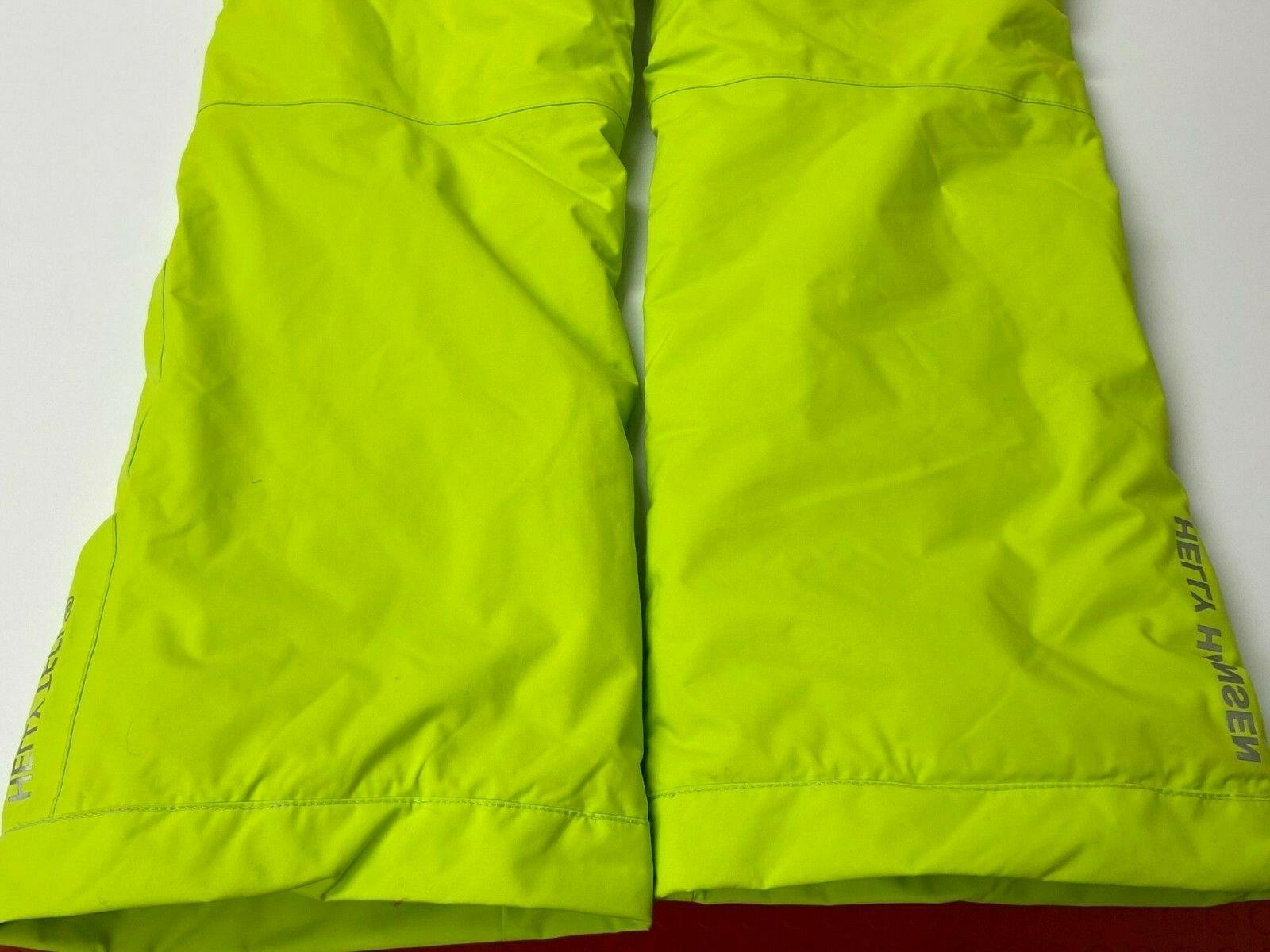 $120 Legendary Ski Pants 14 Insulated Lime