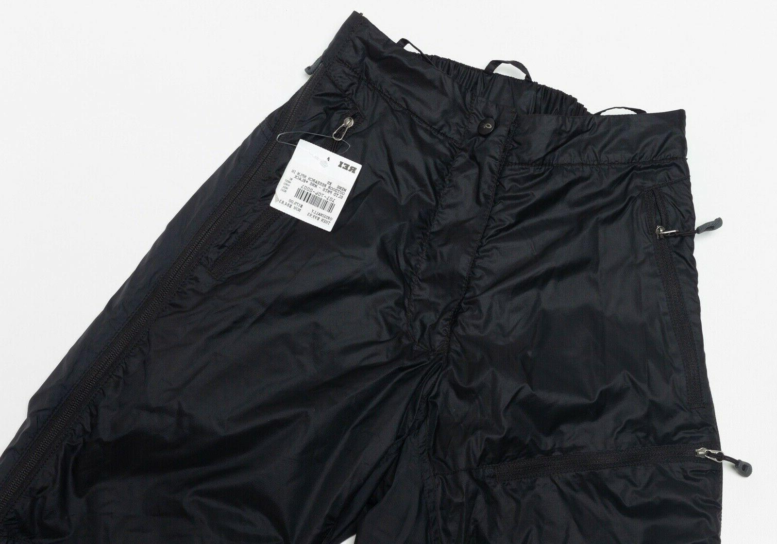 $175 NEW Men's Outdoor Research Neoplume Ski Pants Black Size XS X-Small