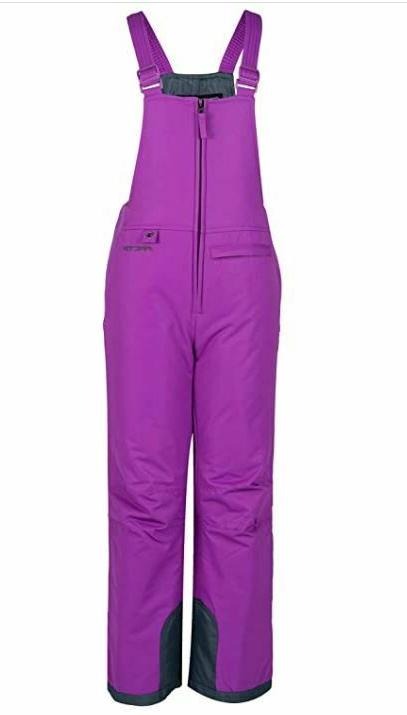 Arctix Youth Insulated Overalls Bib, Medium, Purple