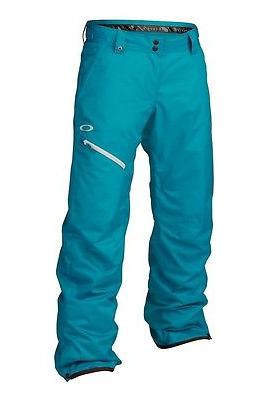 Men's Oakley Tucker Ski Snow Snowboard Pants Enamel Blue Siz
