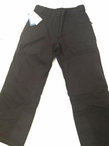 Mens White Insulated Snow Snowboard Black NEW $60