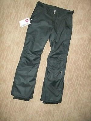ROSSIGNOL Ride INSULATED Black SKI SNOWBOARD Snow PANTS Wome
