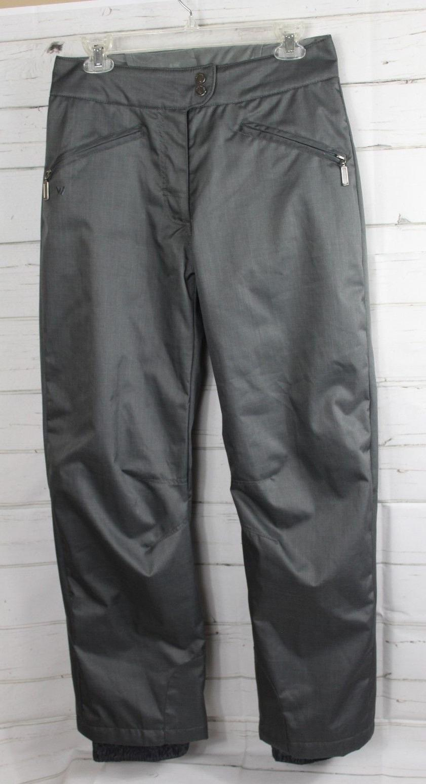 WHITE SIERRA  Women's Toboggan Insulated Ski Snow Pants Size