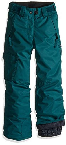 686 Girls Agnes Insulated Pants, Black Jade, X-Small