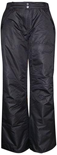 Pulse Big Girls Rider Skiing Ski Snow Pants Insulated , Blac