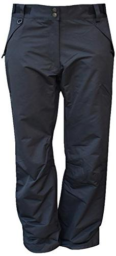 Pulse Mens Technical Insulated Snow Skiing Pants Regular and
