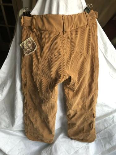 OBERMEYER Bliss Insulated Camel Color Snowboard Women's Sz.5 Corduroy!