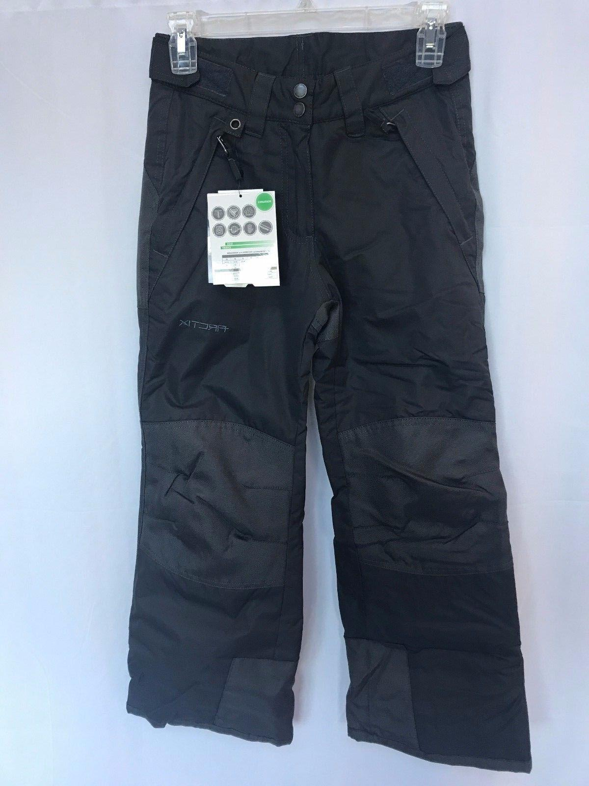 Arctix Youth Reinforced Insulated Water-Resistant Ski Pants