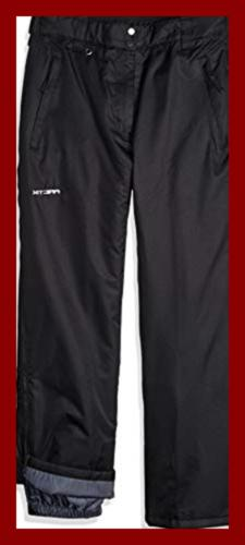 Arctix Full Side Zip Insulated Snow Pants, 4X-Large, Black