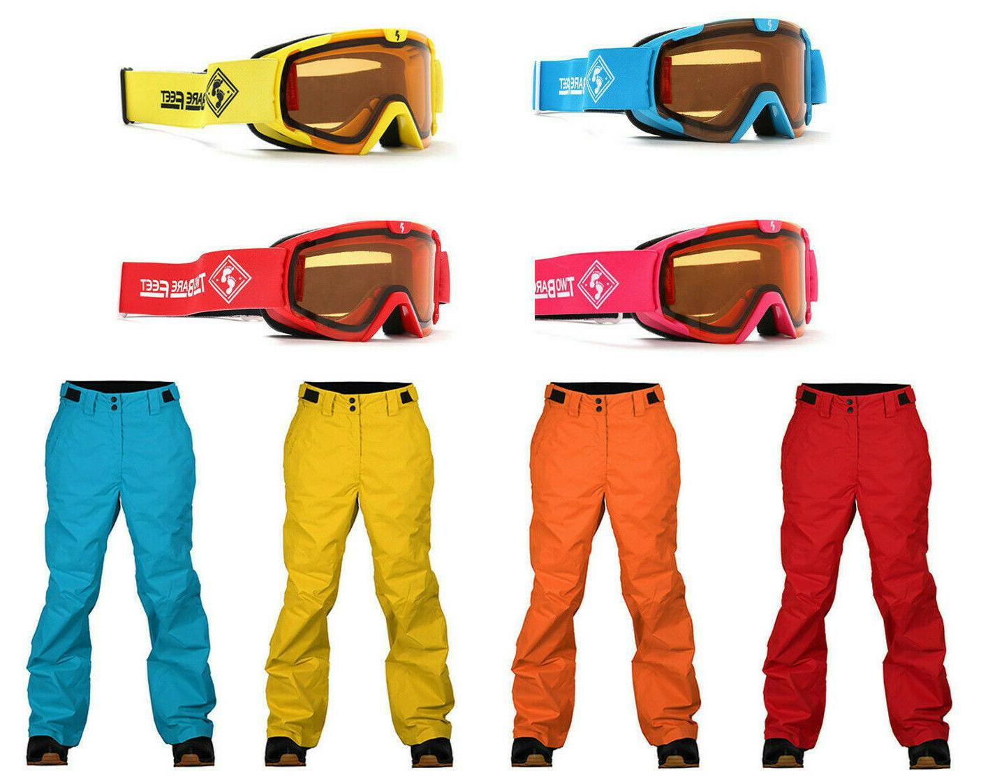 claw hammer kids ski pants and nitro