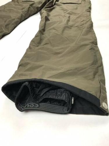 Columbia Ski Pants Lined Hunter Green Size